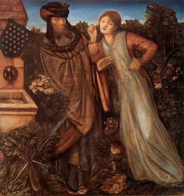 Burne Jones King Mark and La Belle Iseult