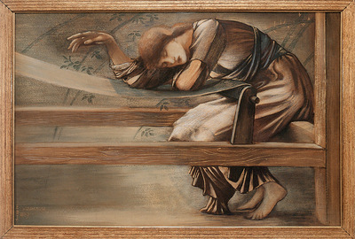 Burne Jones Study for the Garden Court