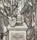 Burne Jones Sir Edward Coley Chrsit And The Well