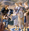 burne jones perseus and the sea nymphs