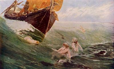 hale edward matthew the mermaid s rock