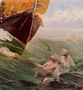 hale edward matthew the mermaid s rock