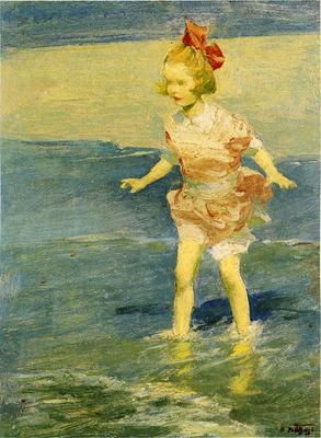 Pothast Edward In the Surf