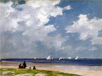 Pothast Edward Sailboats off Far Rockaway