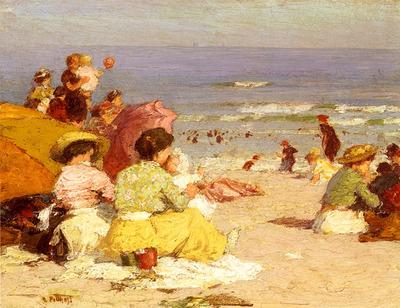 Potthast Edward Beach Scene