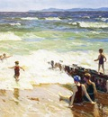 Pothast Edward Bathers by the Shore