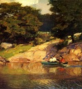 Pothast Edward Boating in Central Park