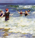 Pothast Edward In the Surf2