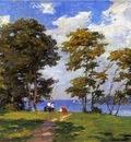 Pothast Edward Landscape by the Shore aka The Picnic