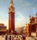 Pritchett Edward The Campanile St Marks Square