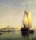Cooke Edward William On The Lagoon Of Venice