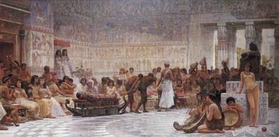 Long Edwin Longsden An Egyptian Feast