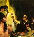 A Spanish Flower Seller
