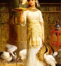 Alethe Attendant of the Sacred Ibis in the Temple of Isis at