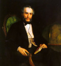 Portrait of Peter Douglas Esquire