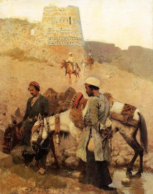 Weeks Edwin Lord Traveling in Persia