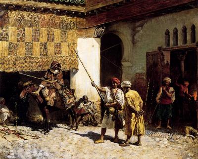 Weeks Edwin The Arab Gunsmith