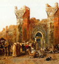Weeks Edwin Lord Gate of Shehal Morocco
