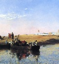 Weeks Edwin Lord Scene at Sale Morocco