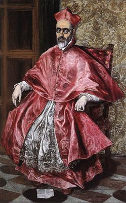 El Greco Portrait of a Cardinal