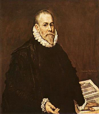 el greco portrait of a doctor 1577