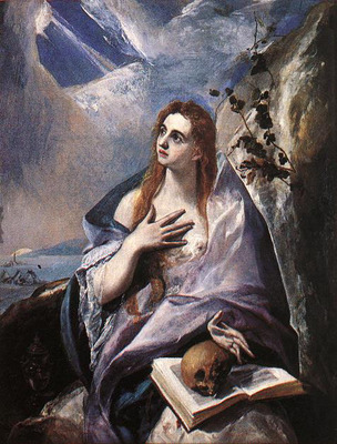 el greco the magdalene 1576