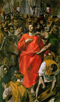 el greco the spoliation 1577