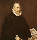 el greco portrait of a doctor 1577