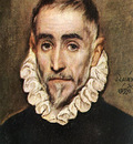 el greco portrait of an elder nobleman 1584