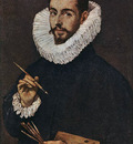 El Greco Portrait of the Artist s Son Jorge Manuel