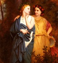Bouguereau Elizabeth Jane Gardner Philomela And Procne
