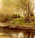 Sanchez%20Perrier Emilio A campfire By the River%20s Edge