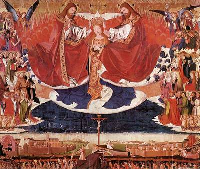 CHARONTON Enguerrand The Coronation Of Mary