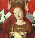 CHARONTON Enguerrand The Coronation Of The Virgin Detail The Virgin