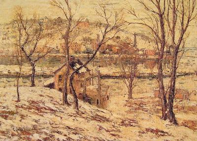 Winter on the Harlem River
