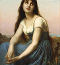 Piot Etienne Adolphe A Young Beauty