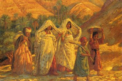 Dinet Etienne Arab Women And Children