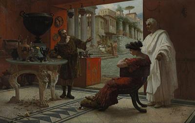 Forti Ettore The Vendor of Antiquities