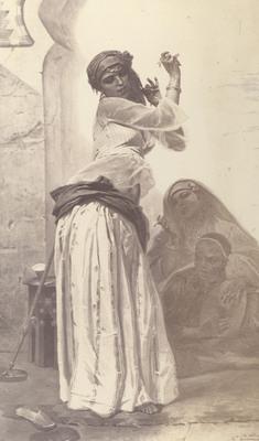 Giraud Pierre Francois Eugene une danseuse de cairo