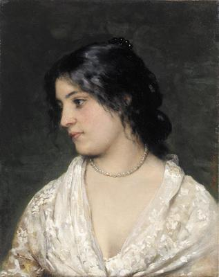 Blaas Eugen von The Pearl Necklace