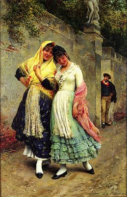 Blaas Eugene de The Flirtation