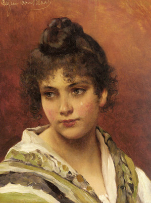 Blass Eugene De A Young Beauty