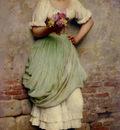 Blaas Eugene De The Flower Seller