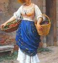 Blaas Eugene de The Fruit Seller