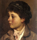 Blass Eugene De Head Of A Young Boy