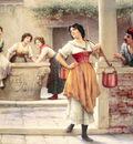 Flirtation at the Well