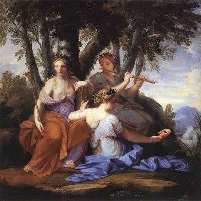 LE SUEUR Eustache The Muses Clio Euterpe And Thalia
