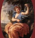 LE SUEUR Eustache The Muse Terpsichore