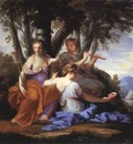 LE SUEUR Eustache The Muses Clio Euterpe And Thalia