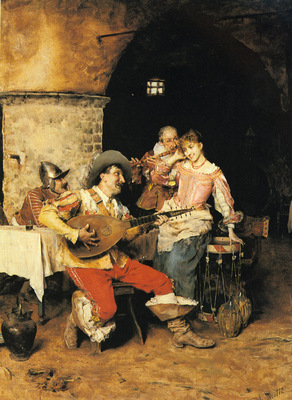 Andreotti Federigo The Serenade